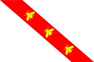 Insel Elba: die Fahne