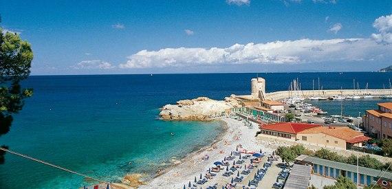 wo man am besten ans Meer auf der Insel Elba geht