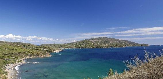 Felswände Insel Elba