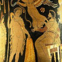 Auf der Rückreise der mythologischen Argonauten