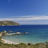 weißen Strände Insel Elba