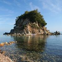 Insel Paolina strande