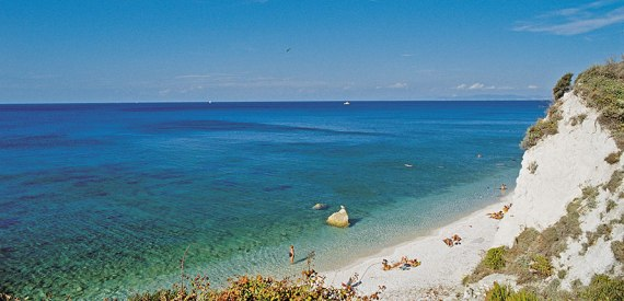 Insel Elba im August