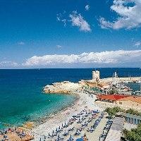 Strände ausgestattet Insel Elba