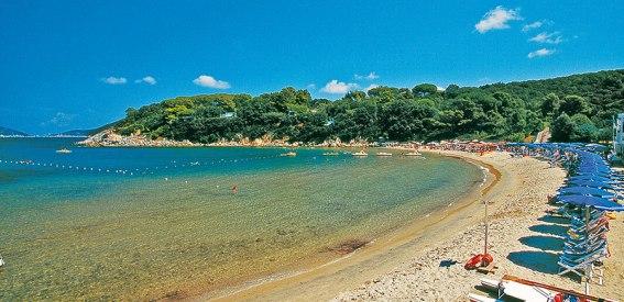 Strand Spartaia Insel Elba