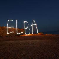 Elba Island by night