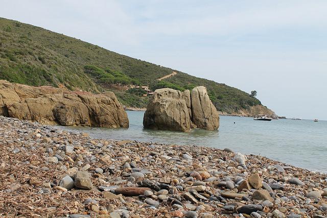 Fonza beach, Elba