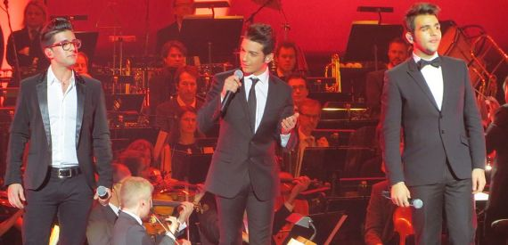 Il Volo concert on Elba Island 2015