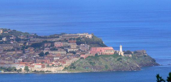 Elba Island's lighthouses