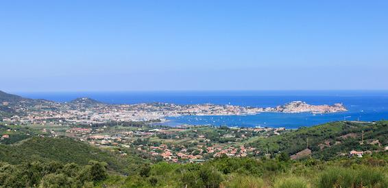 short break in June 2016: Elba Island