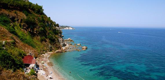 Elba Island sandy beaches: Portoferraio