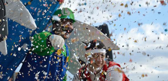 Elba Island: the Carnival 2017 in Porto Azzurro