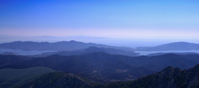 Island of Elba in the Autumn