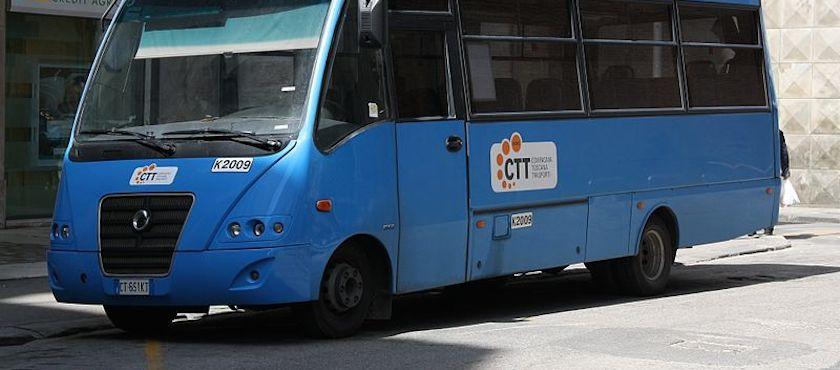 Elba Island bus