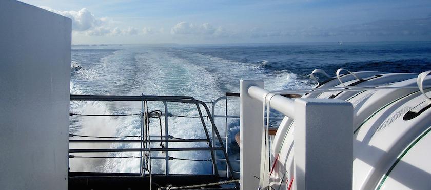 Elba Island embark car