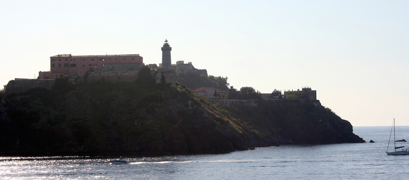 ferries to Elba Island in August