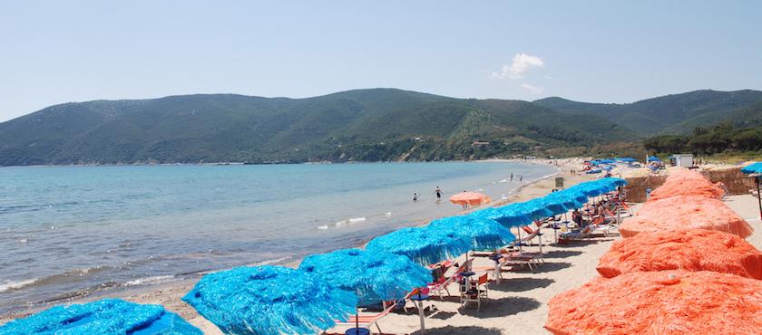 kid friendly beaches in Italy: Elba Island