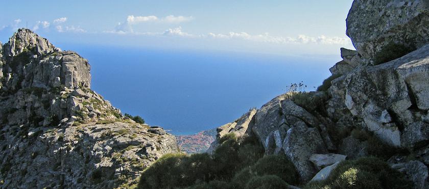 Mount Capanne on foot