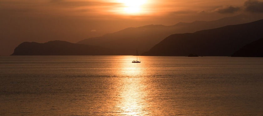 Elba Island in september