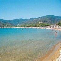 Spiaggia di Lacona isola d'Elba