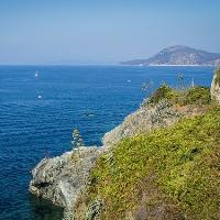 isola d'Elba a piedi