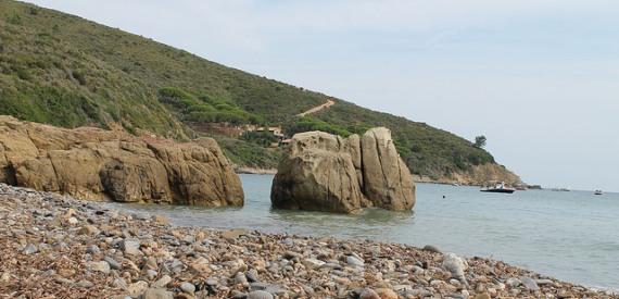 la spiaggia di Fonza