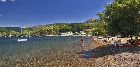 la spiaggia di Magazzini