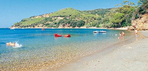 spiaggia Ottone isola d'Elba