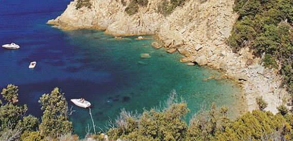 spiaggia Ripa Barata isola d'Elba