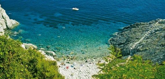 spiaggia della Crocetta Elba