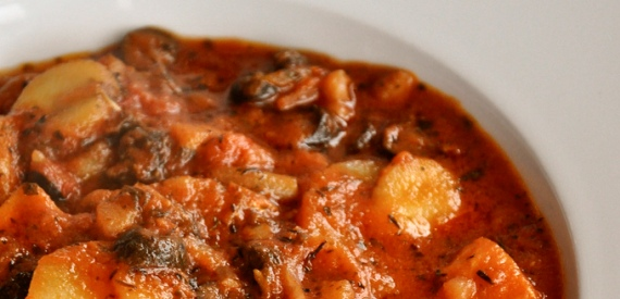 ricette tipiche isola d'Elba: lo stoccafisso alla riese