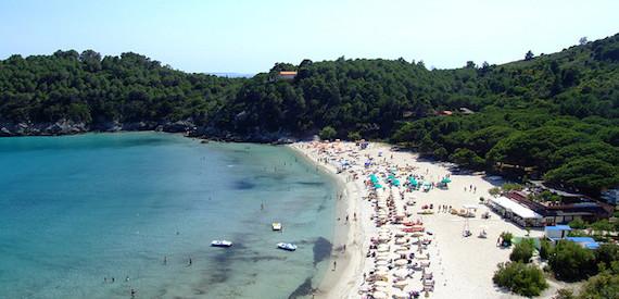 Coca Cola Summer tour 2016: isola d'Elba
