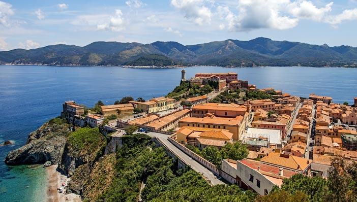 come arrivare all'isola d'Elba