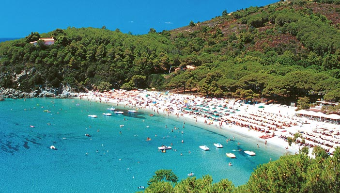 Le migliori spiagge isola elba