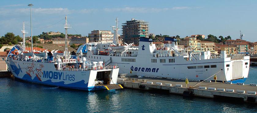 traghetti Elba bagagli