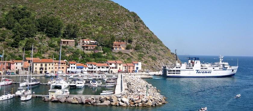 traghetti Elba durata