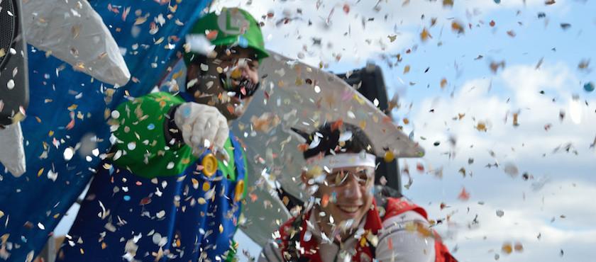 Carnevale Porto Azzurro isola d'Elba 2018
