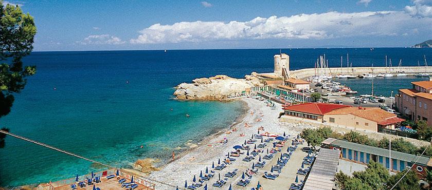 spiagge Bandiera blu 2018 Elba