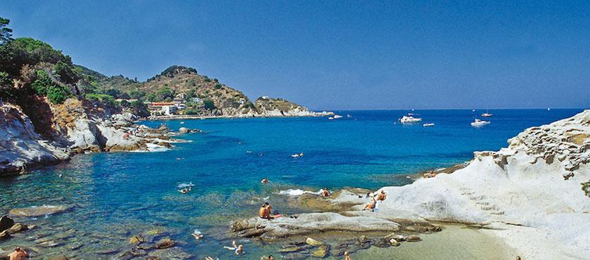 spiaggia Cotoncello isola Elba