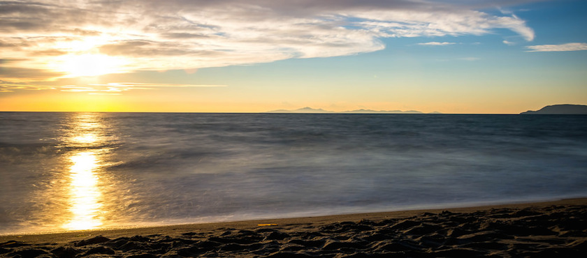 dove vedere il tramonto all'isola d'Elba